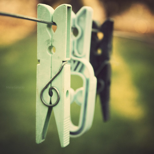 My not so cute clothespins. by {maira.gall}