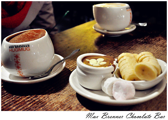 Max Brenner Chocolate Bar at Oracal BroadBeach