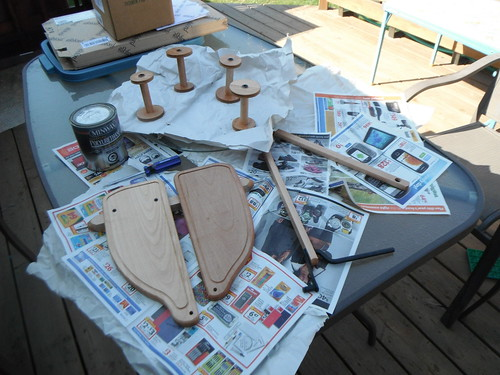 double treadle kit drying
