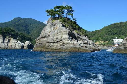 堂ヶ島遊覧船から