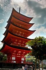 Hiroshima-01 (Rustlica) Tags: red sky japan architecture tokyo traditional 28mm sigma hiroshima dp foveon dp1 dp2
