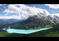 Lake Louise (T.P Photographie) Tags: park blue lake canada mountains clouds forest rockies nikon jasper rocky lac sigma bleu louise national alberta banff nuages 1020 foret hdr rocheuses canadienne d7000