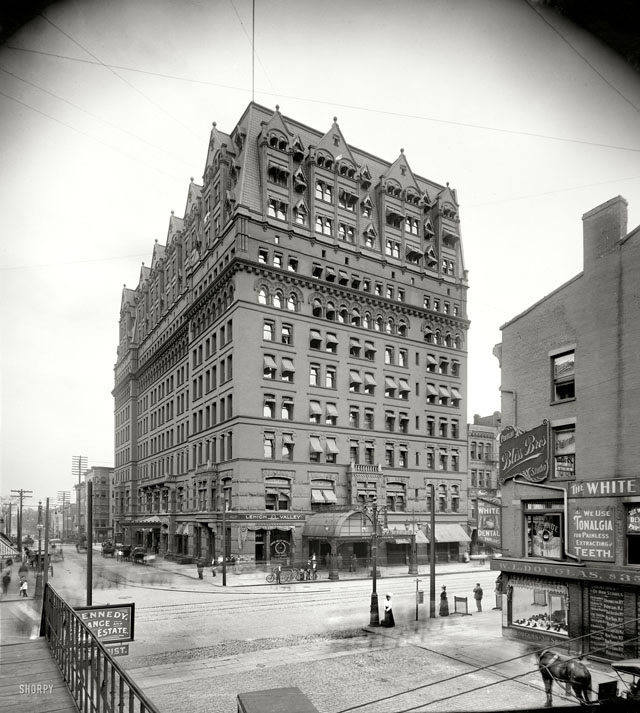 bliss Hotel Iroquois, Buffalo 1900