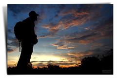Andai Bisa Ku Tunggu Fajar di Ufuk Sana (AnNamir c[_]) Tags: sunset silhouette canon dusk dramatic kitlens human malaysia 7d silueta firdaus aus siluet senja mega f9 ufuk perak mentari maghrib bukitmerah annamir getokubicom fibix klno artistoftheyearlevel3 pakindera