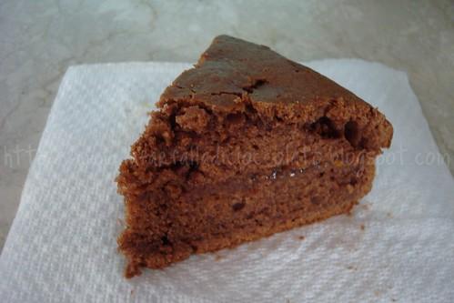 Torta allo Yogurt e Cacao con marmellata di Arance amare 4