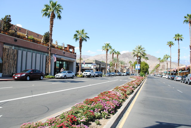 palm springs shopping
