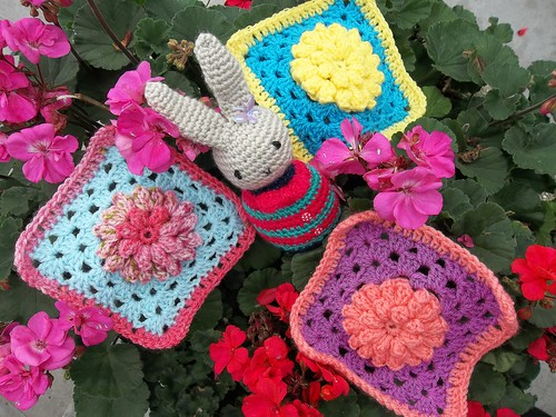 Gorgeous Flower Squares.
