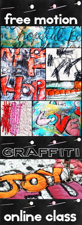 new online class- free motion graffiti