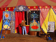 the mystery of the big top (Fat Burns) Tags: festival performingarts arts australia tasmania launceston fatburnsportfolio