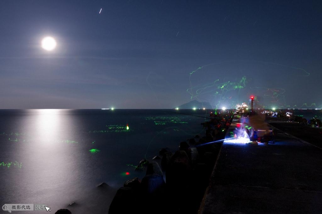 烏石港堤防夜拍 018