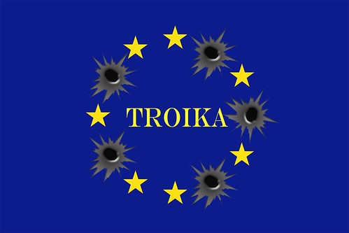 TROIKA FLAG by Colonel Flick