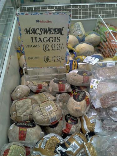 Haggis in Qatar
