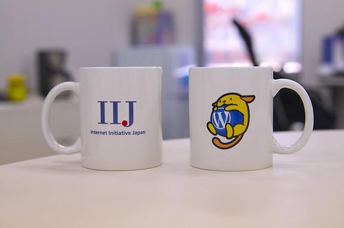 IIJ さんの Wapuu マグカップ