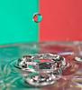 Gota bicolor (Anvica) Tags: water closeup agua sony drop gota a350 fotografíadeaproximación