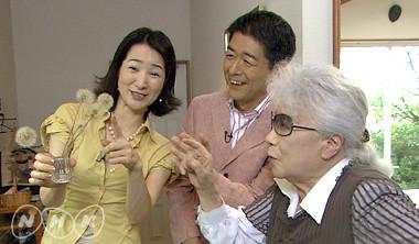 2007.9.16NHK日曜美術館に出演した時の堀文子89歳 by Poran111