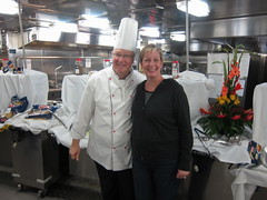 Me & the chef