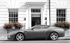 Aston Martin DB7 Vantage Zagato (Robin Kiewiet) Tags: show 2002 england paris london english robin photography