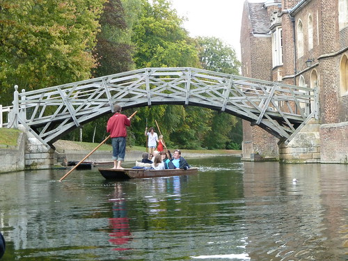 Mathematical Bridge over River Cam