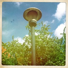 An old street light from the 1960s