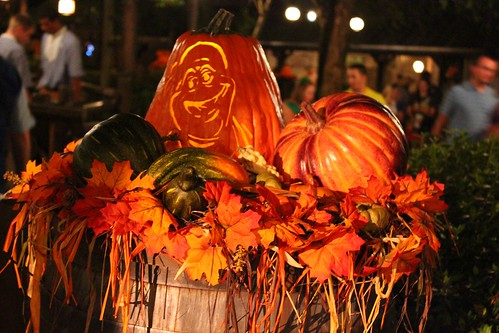 Splash Mountain treat trail pumpkin