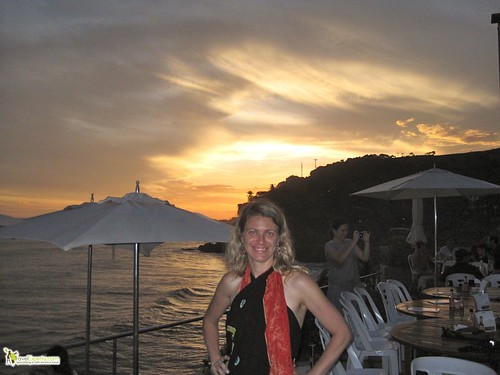 fine dining sunzal beach el salvador  sunset