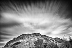 Salisbury Crags (ldfoto) Tags: longexposure landscape scotland edinburgh holyrood crags vulcano salisburycrags cokinfilter holyroodpark movingclouds ndfilter neutraldensityfilter nd110 bw110 d700 ndcokin lorenzodalberto ldphoto