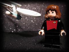 @carolynporco boldly goes by pixbymaia (pixbymaia) Tags: startrek lego minifig scientist minifigure carolynporco scitweeps