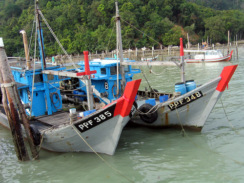 Small-scale fisheries, Malaysia, photo by Jamie Oliver, 2008