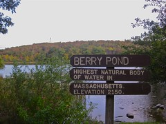 signage  Berry Pond (MTBradley) Tags: geotagged signage westernmassachusetts superlatives superlative berrypond berkshirecounty pittsfieldstateforest