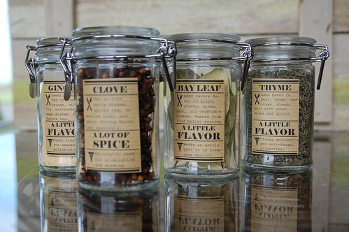 diy spice jar labels diydiva