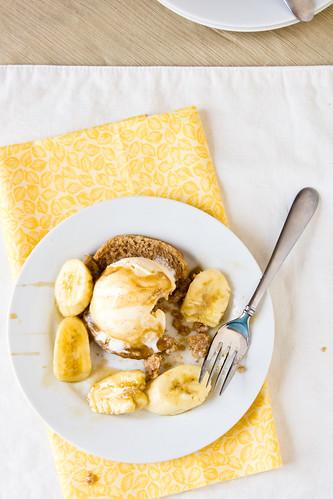 Bananas Foster Shortcakes