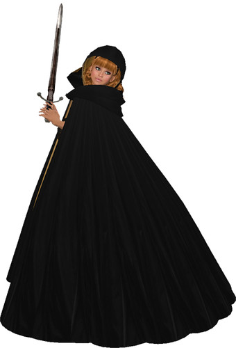Shabby Chic Lady Syleena Medieval Gown with Cape by Shabby Chics