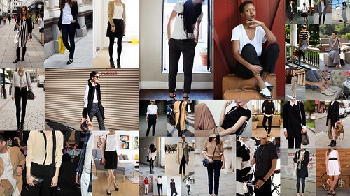 Inspiration Collage Black White Camel