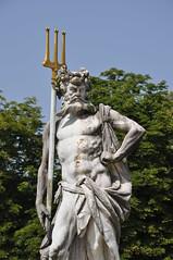 Schloss Nymphenburg - Neptune Statue