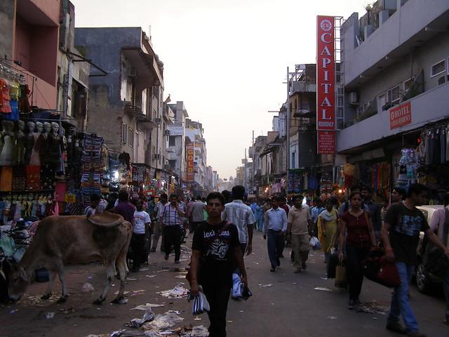 Paharganj主要市集