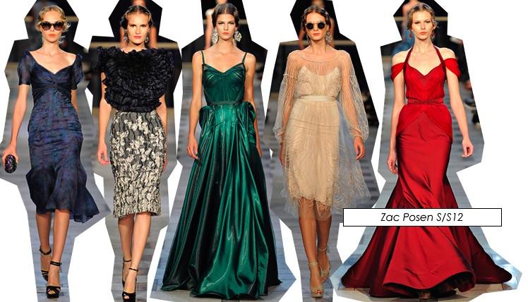 new york fashion week zac posen ss12 2012 collection