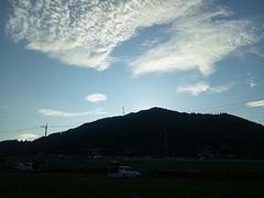 日が傾いてだいぶ涼しくなってきましたの写真