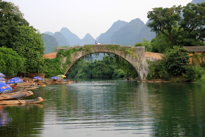 Dragon Bridge, Yangshuo, China