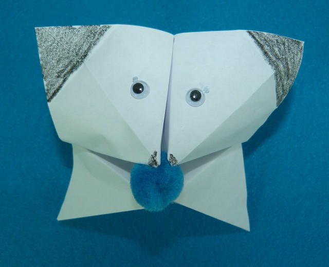 Cootie Catcher Puppet