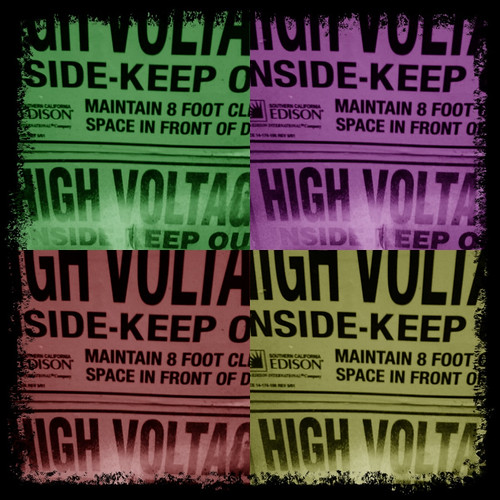 High Voltage by Damian Gadal