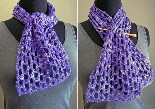 Bobbin's Nest Bird's Eye Mini Scarf