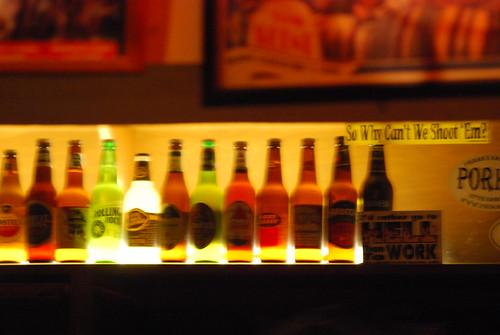 Hard Times - Beer Wall