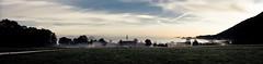 ... am morgen ... (SebusPhotography) Tags: panorama fog germany bayern deutschland bavaria town nebel haus morgennebel chiemgau staudach sebusphotography wwwsebusphotographycom