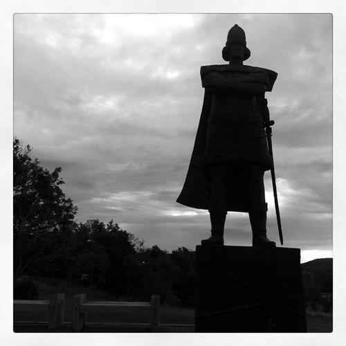 Gaspar Corte-Real statue in St. John's