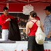 Canada Day Merch Tent 2011