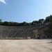 The amphitheatre at Epidaurus, Greece