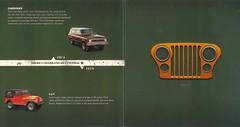 Jeep 1970s Timeline (lee.ekstrom) Tags: history print advertising jeep sj timeline historical material catalog cherokee grille brochure renegade grilles cj7 crm jeepgrille handraisers jeepbrand