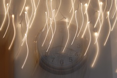 "Sep 24 2011 [Day 327] ""Only Time"" (James_Seattle) Tags: clock lights nikon 2000 time september 365 d200 enya year1 onlytime 2011 nikond200 timeisablur adaywithoutrain jamesseattle songlyricsaturday"