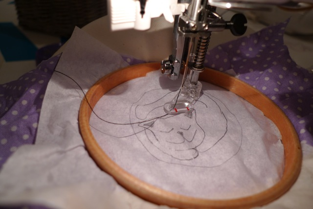 Tilly And The Buttons Freehand Machine Embroidery