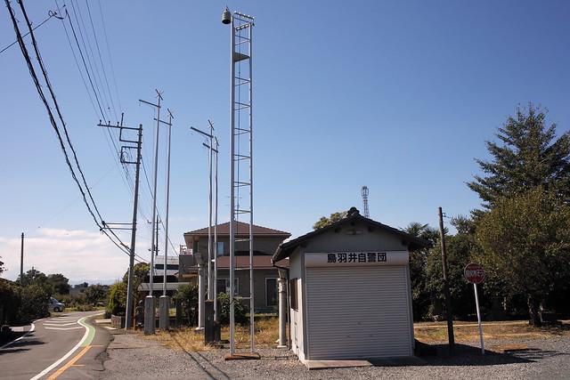 鳥羽井の火の見櫓(川島町)